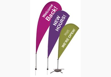 Teardrop Sail Sign Kits