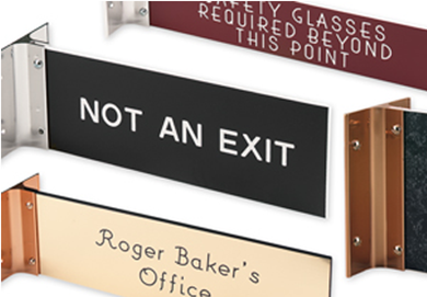 Extended Wall Signs