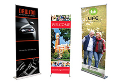Full Color Banner Stands