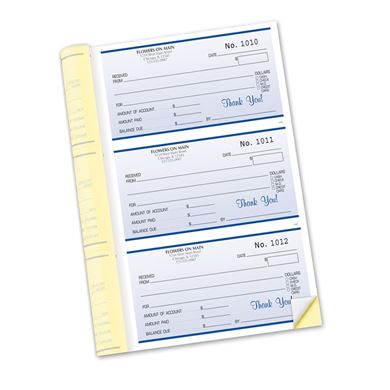 Custom Receipt Booklets