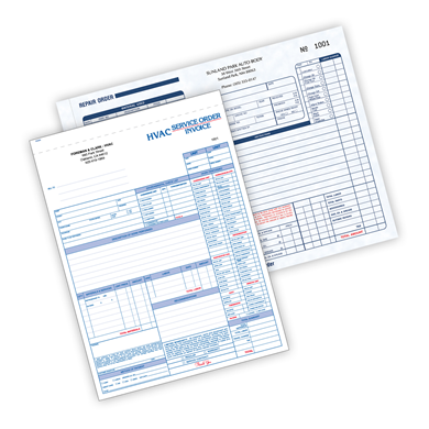 Custom Repair and Service Forms