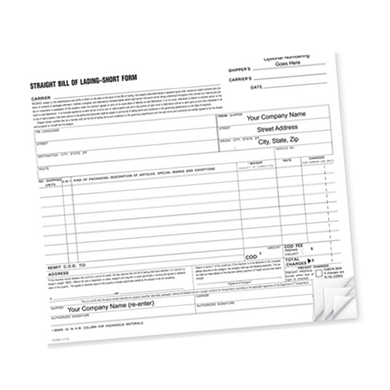 Custom Shipping Forms
