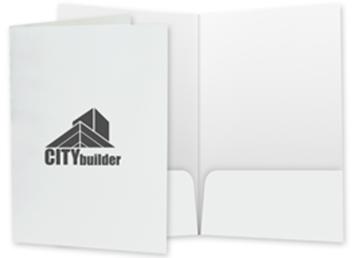 One Color Two Pocket Legal Folder