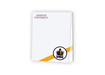 Memo Pad 4.25 x 5.5, White 60 lb. Text with 25 Sheets per Pad
