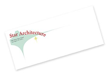 Full Color Flat Print Envelopes