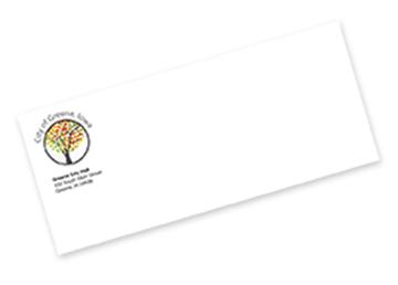 Full Color Raised Print Envelopes