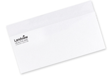 One Standard Spot Color Envelopes - Flat Print