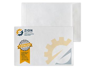 """Custom DuPont™ Tyvek® Envelope, 6"""" x 9"""" Open End"""