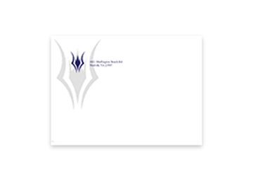 Printed Full Color Front Side - A6 (Square-Flap)