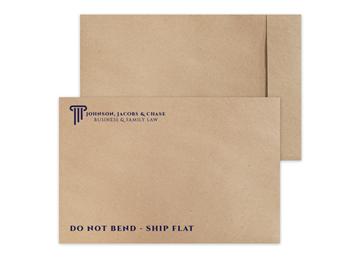 "Custom TerraBoard™ Envelope, 10-1/2"" x 16"", 2 Standard Inks"