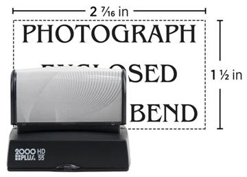 2000 Plus® HD 55 Pre-inked Stamp