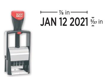 2000 Plus® 2015 Metal Stock Dater