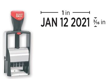 2000 Plus® 2020 Metal Stock Dater