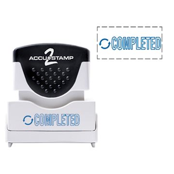 Accu Stamp® 2 One Color Stock Stamps Completed