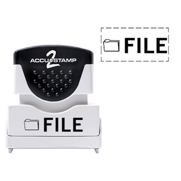 Accu Stamp® 2 One Color Stock Stamps File