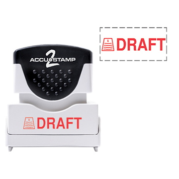 Accu Stamp® 2 One Color Stock Stamps Draft