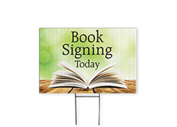 """Full Color Yard Sign with Stake - 24"""" x 36"""""""