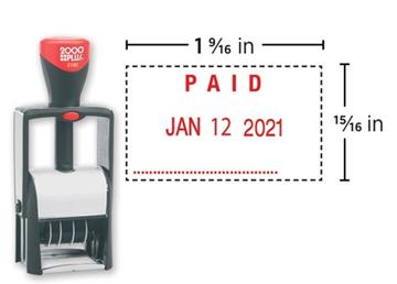 2000 Plus® Self-Inking 2160 Heavy Duty Dater