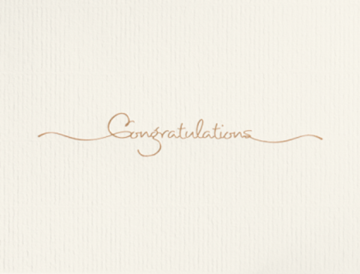 Golden Congratulations