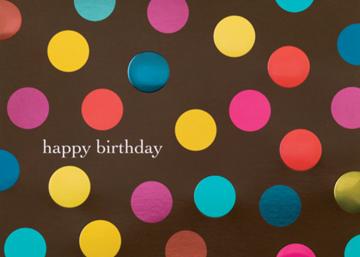Birthday Polka Dots