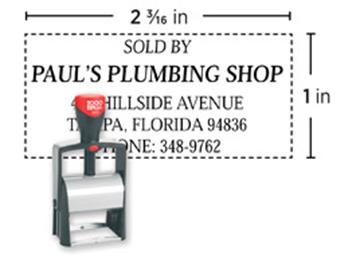 2000 Plus® Self-Inking 2400  Heavy Duty Stamp