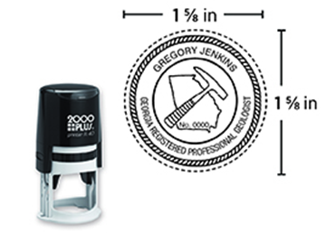 2000 Plus® Self-Inking  Printer R40 Notary Round Stamp