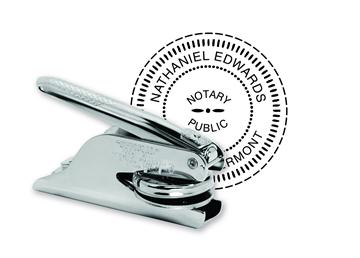 """Custom Official K Pocket Notary Seal 1 5/8"""""""