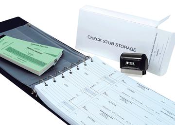 "Custom Secure Carbonless Check Start-Up Kit, Business Checks, 13"" x 9-3/16"", 2-Part"