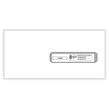 """ComplyRight™ CMS-1500 Window Envelope #10½, Healthcare Forms and Envelopes, 4½""""x 9½"""", -Seal, Box of 500"""