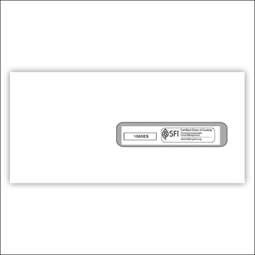 """ComplyRight™ CMS-1500 Window Envelope #10½, Healthcare Forms and Envelopes, 4½""""x 9½"""", Self--Seal, Box of 500"""