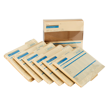 ComplyRight™ Employee Record Organizer 6 Folder Set. Pack of 25, Recordkeeping Folders
