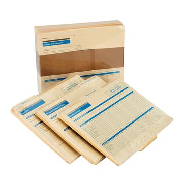 ComplyRight™ Employee Record Organizer 3 Folder Set, Recordkeeping Folders, Pack of 25
