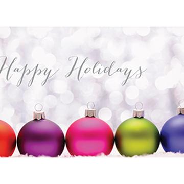 Colorful Ornaments - Printed Envelope