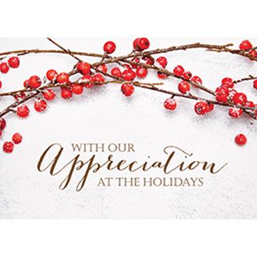 Berry Appreciation - Printed Envelope