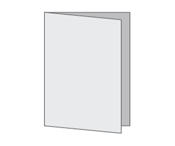 Custom Half-Fold Menu, Durable and Disposable Restaurant Menus, 11 x 17