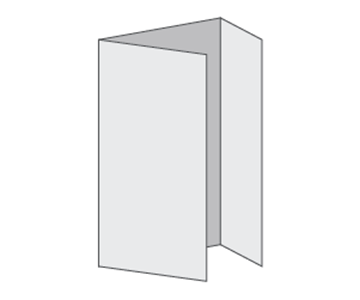 Custom Tri-Fold Menu, Durable and Disposable Restaurant Menus, 11 x 17