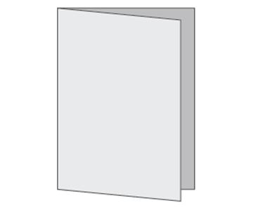 Custom Half-Fold Menu, Durable and Disposable Restaurant Menus, 12 x 18, Multiple Stock Options