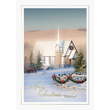 Country Church - Printed Envelope
