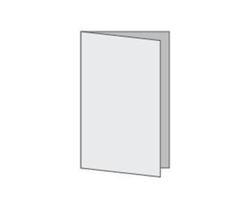 Custom Half-Fold Menu, Durable and Disposable Restaurant Menus, 8.5 x 11, Multiple Stock Options