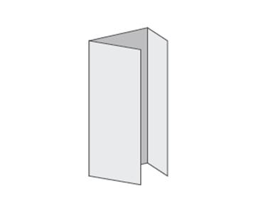 Custom Tri-Fold Menu, Durable and Disposable Restaurant Menus, 8.5 x 11, Multiple Stock Options