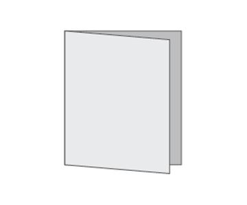 Custom Half-Fold Menu, Durable and Disposable Restaurant Menus, 8.5 x 14