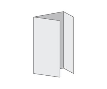 Custom Tri-Fold Menu, Durable and Disposable Restaurant Menus,  8.5 x 14