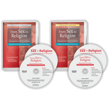 From Sex to Religion Training Program, Compliance and Training Tools, Bundle