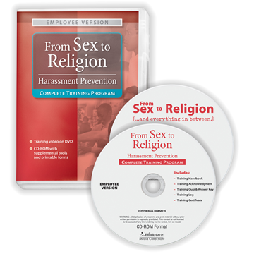 """ComplyRight™ """"From Sex to Religion"""" Training Program, Compliance and Training Tools, Employee Version"""