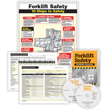 ComplyRight™ Forklift Training Set, Workplace Safety