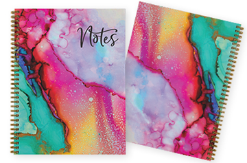 Create Your Own Hard Cover Notebook 8.5 x 11