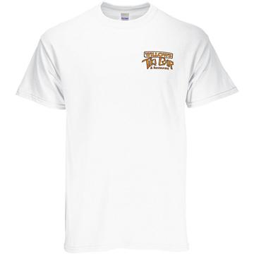GILDAN® Full Color 100% Cotton White T-shirt
