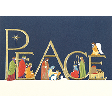 Come in Peace - Printed Envelope