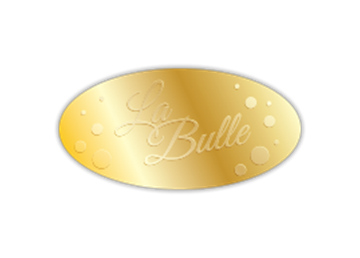 """1 1/4"""" x 2 1/2"""" Oval Foil & Embossed Combination"""