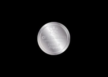 "1 1/8"" Circle Foil Imprint"